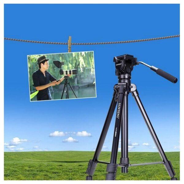 20493 - Портативный штатив Yunteng 880 для фото и видеокамер