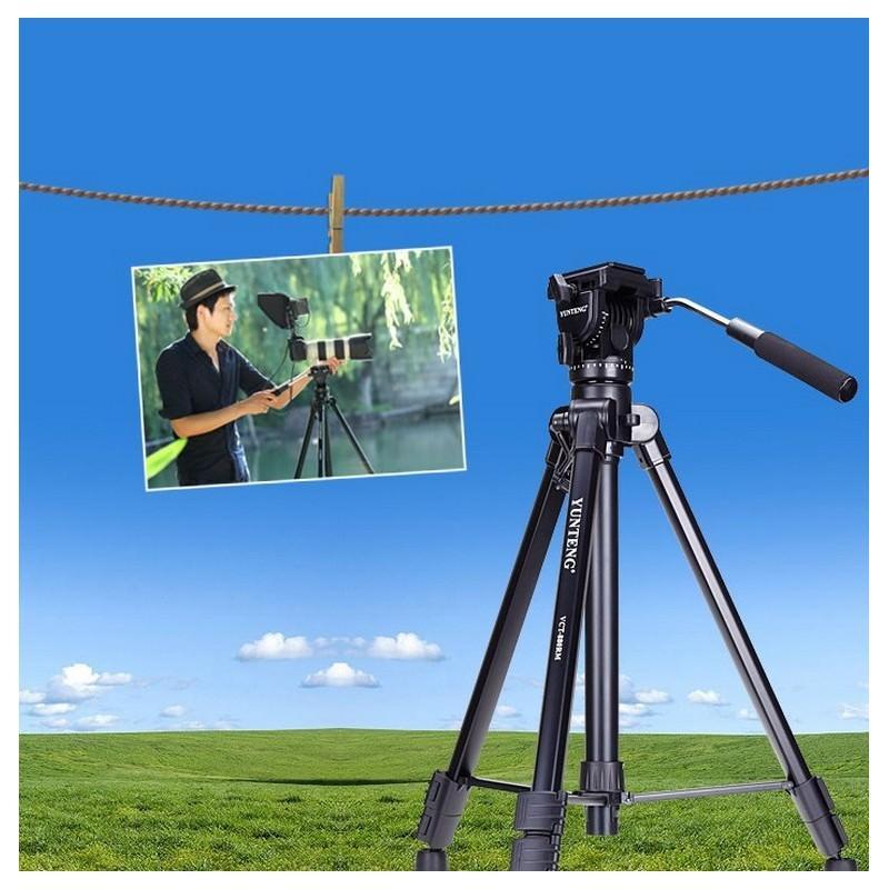 Портативный штатив Yunteng 880 для фото и видеокамер 200304