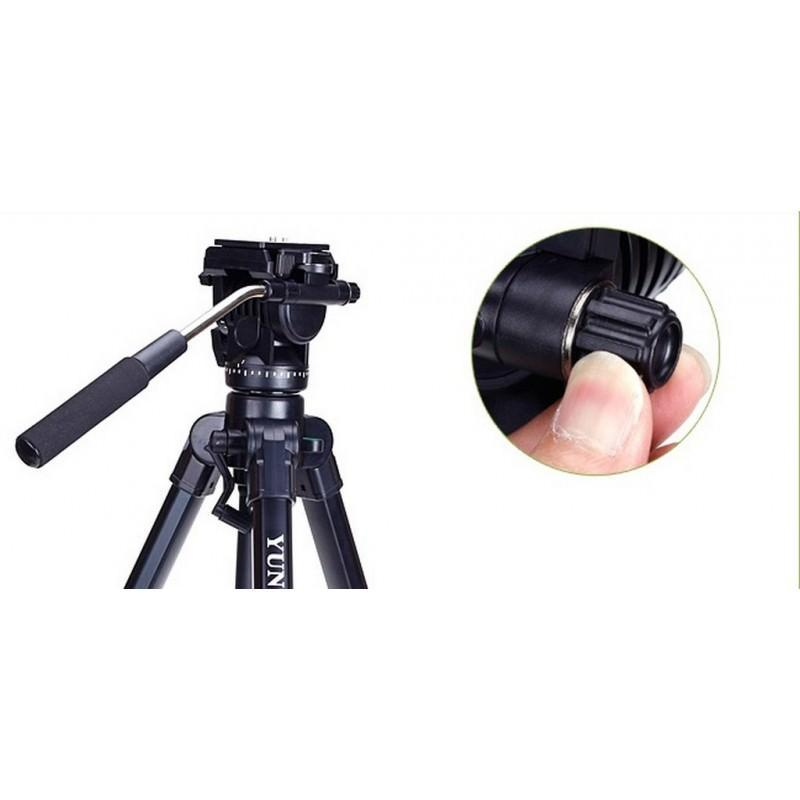 Профессиональный штатив Yunteng 998 для фото и видеосъемки 200323