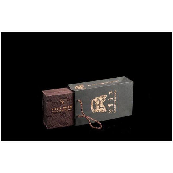 20537 - Кожаное портмоне ручной работы Kongery Indian