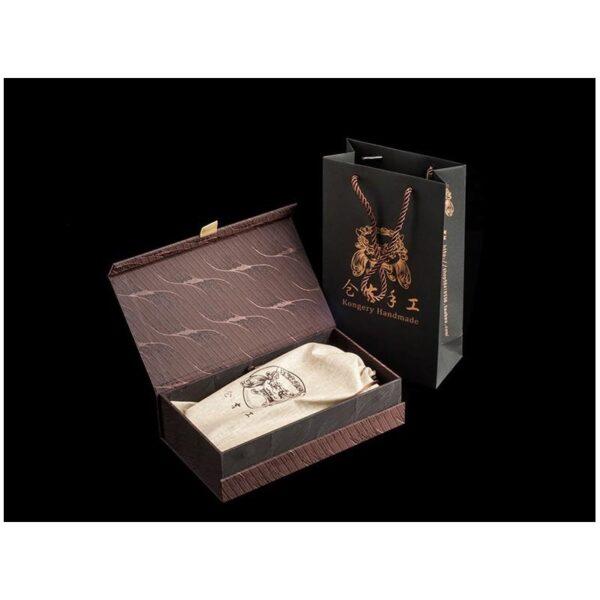 20538 - Кожаное портмоне ручной работы Kongery Indian