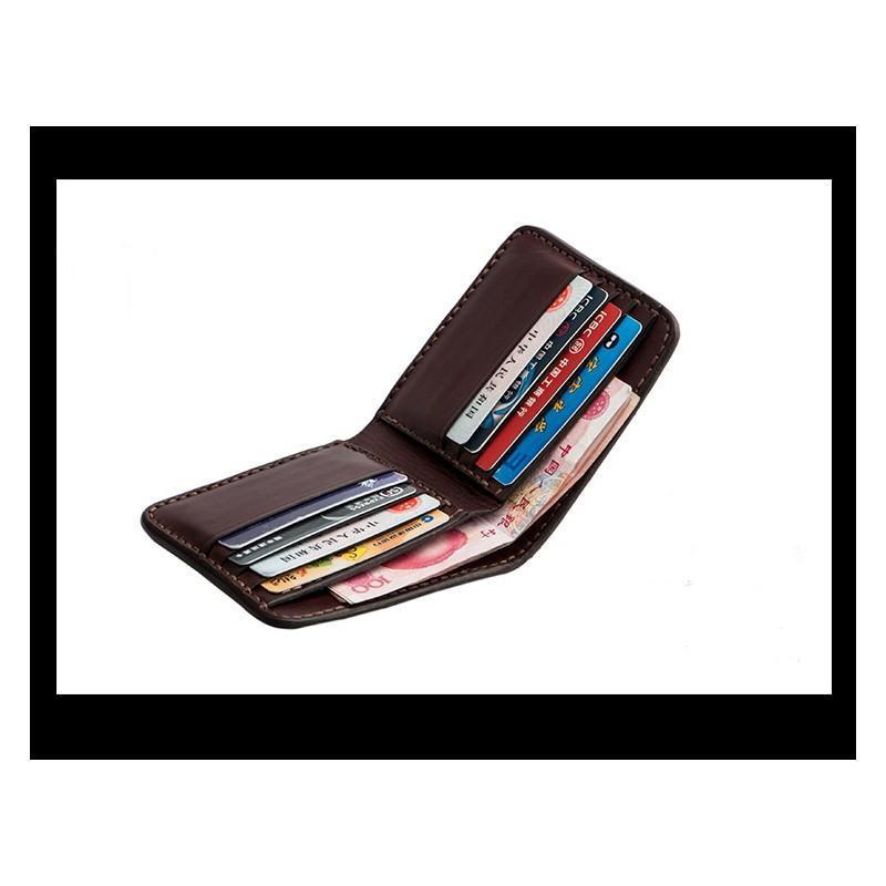 Кожаное портмоне ручной работы Kongery Indian 200347