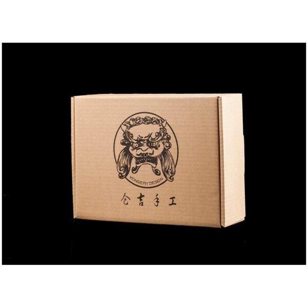 20548 - Кожаное портмоне ручной работы Kongery Indian