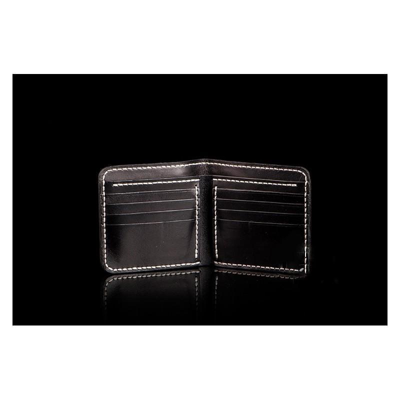 Кошелек-портмоне ручной работы Kongery Golden Carp: кожа первый слой 200378