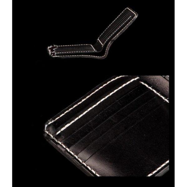 20582 - Кошелек-портмоне ручной работы Kongery Golden Carp: кожа первый слой