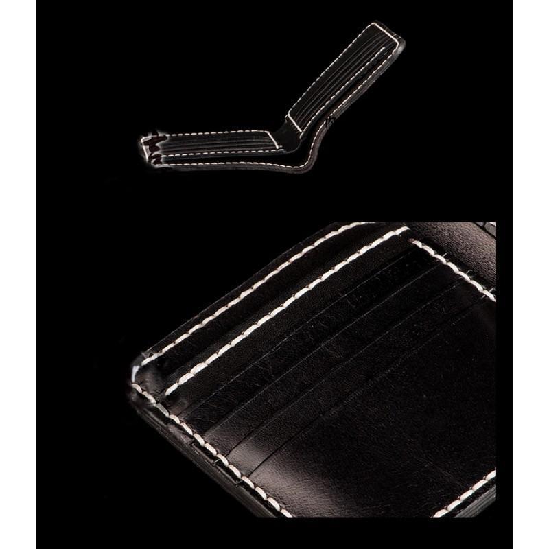 Кошелек-портмоне ручной работы Kongery Golden Carp: кожа первый слой 200386