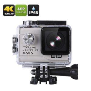 Спортивная экшн-камера Elephone EleCam Explorer Elite – 170 градусов, 4К, IP68, NTK96660, CMOS сенсор SONY