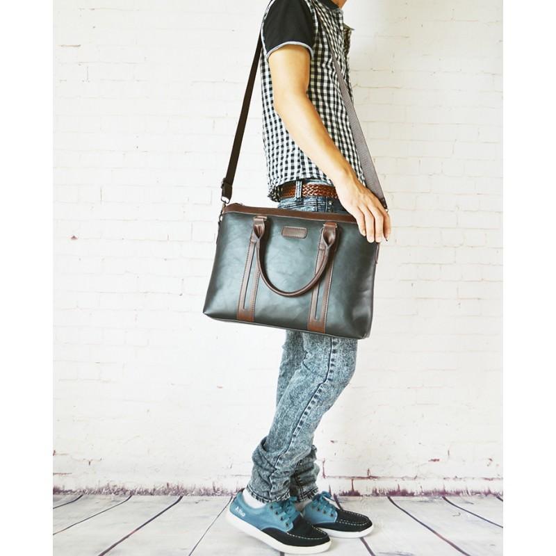 Мужской портфель-сумка O'Honor Classic Festiva - Черный