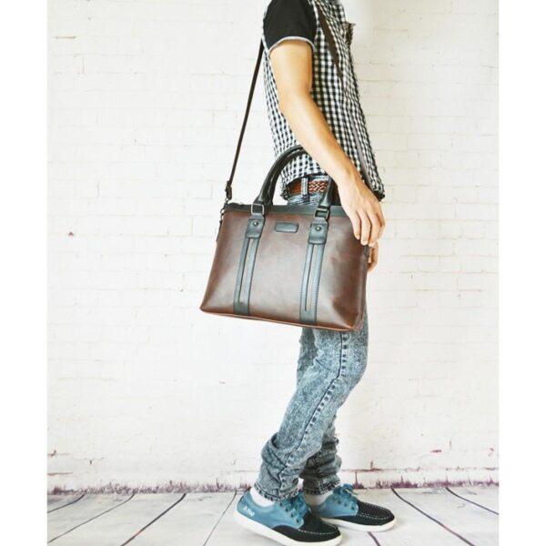 20612 - Мужской портфель-сумка O'Honor Classic Festiva