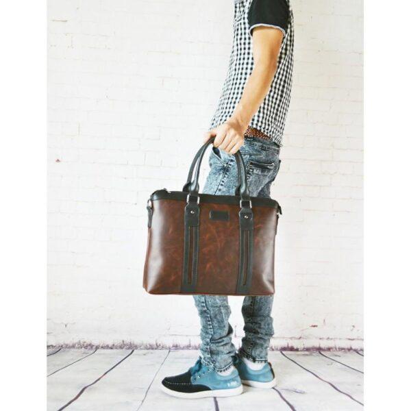 20614 - Мужской портфель-сумка O'Honor Classic Festiva