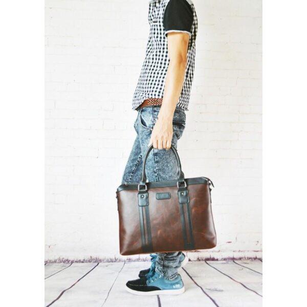 20617 - Мужской портфель-сумка O'Honor Classic Festiva