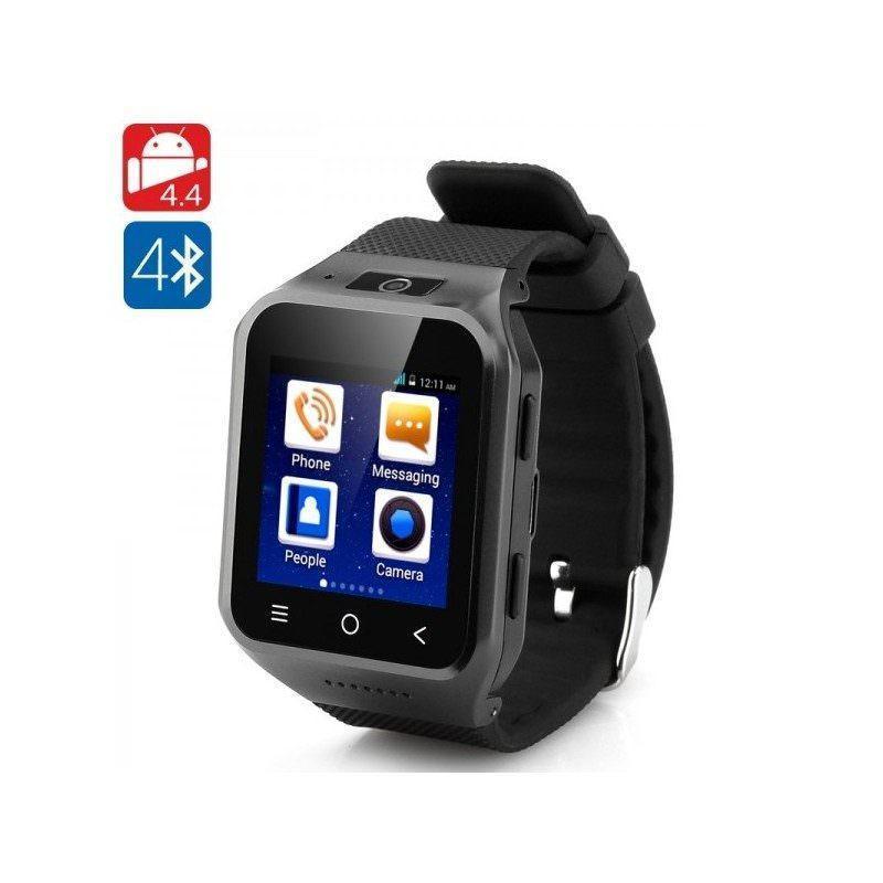 Часофон ZGPAX S8 – Android 4.4, 2-ядерный процессор, 1.54-дюймовый дисплей, ОЗУ 512 Мб, 4 Гб, Bluetooth 4.0, Wi-Fi, 3G, GPS