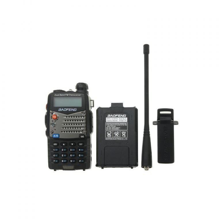2079 - Портативная рация BAOFENG UV-5RA - 2 диапазона, 128 каналов