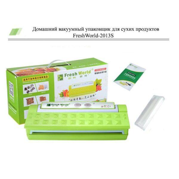 20823 - Домашний вакуумный упаковщик для сухих продуктов FreshWorld-2013S