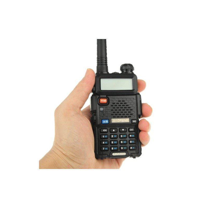 Портативная рация BAOFENG UV-5R – 2 диапазона, 128 каналов