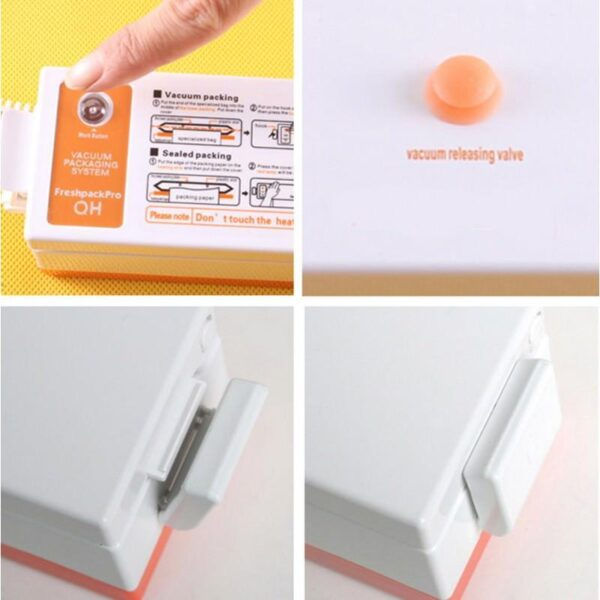20889 - Портативный вакуумный упаковщик для сухих продуктов VACula
