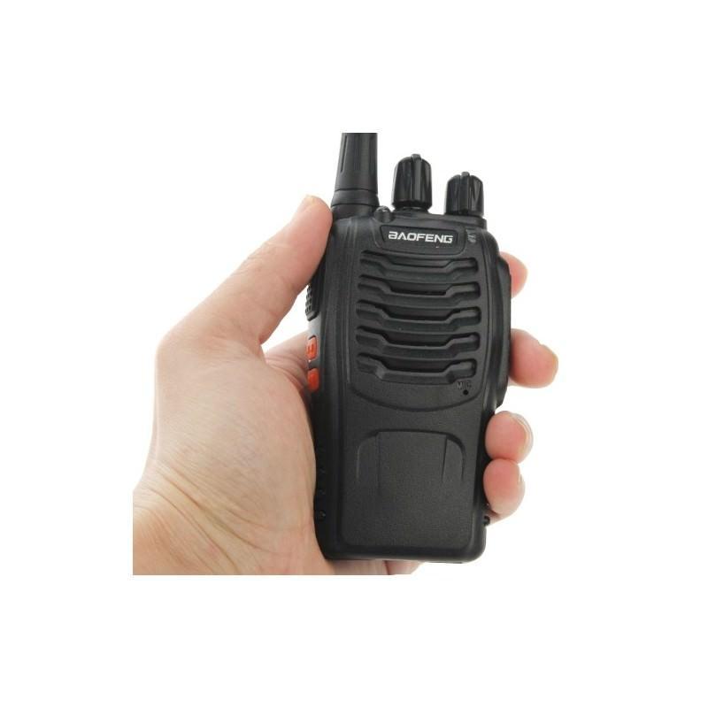 Портативная рация BAOFENG BF-888S – UHF, 5Вт, 16 каналов
