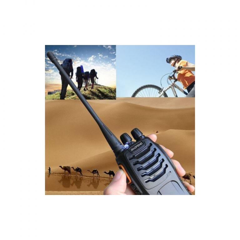 2105 - Портативная рация BAOFENG BF-888S - UHF, 5Вт, 16 каналов