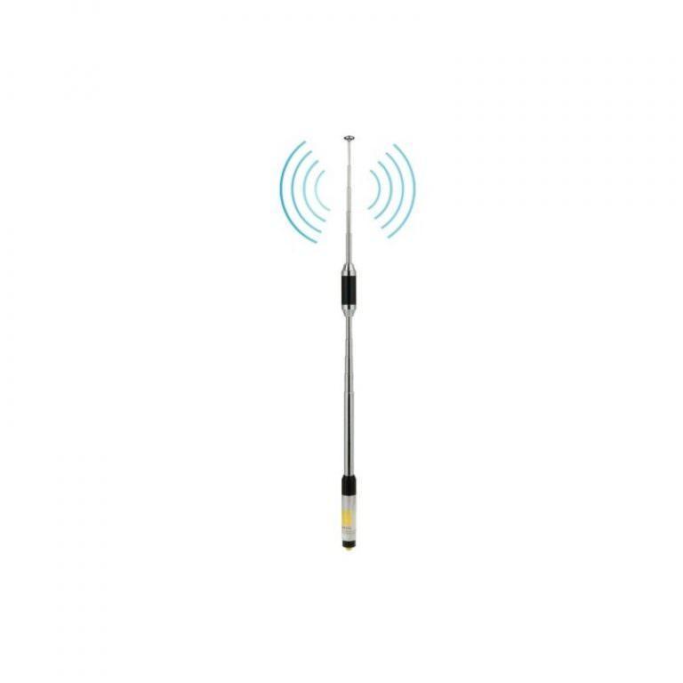 2107 - Телескопическая антенна для рации RH770 - частоты 144/430 МГц, SMA-Female