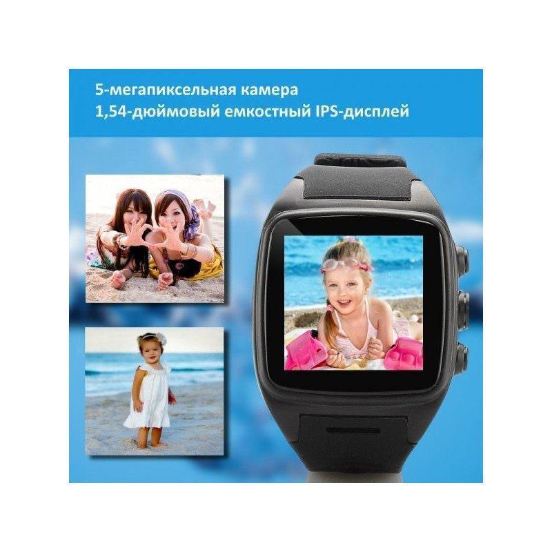 Водонепроницаемый часофон iMacwear M7 – IP67, сенсорный дисплей 1,54″, ОС Android 4.4, 2-ядерный процессор, 3G