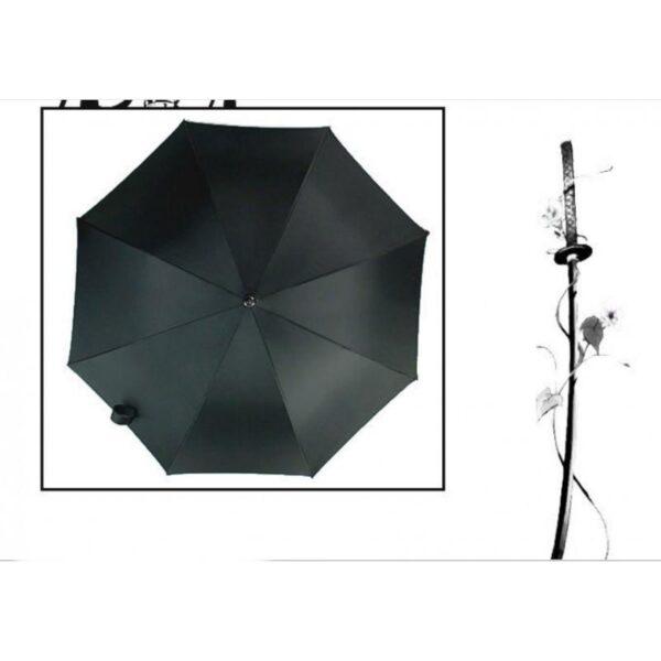 21266 - Зонт меч Катана: 24 спицы (оригинал, полная длина, спицы - стеклопластик!)