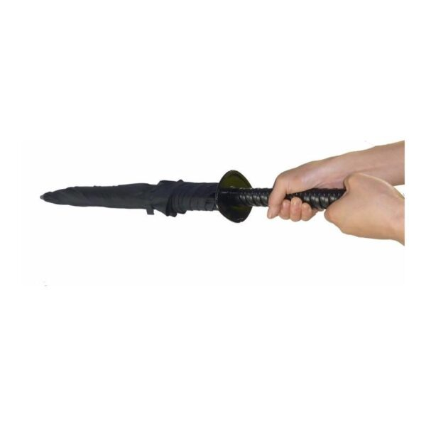 21272 - Зонт меч Катана: 24 спицы (оригинал, полная длина, спицы - стеклопластик!)