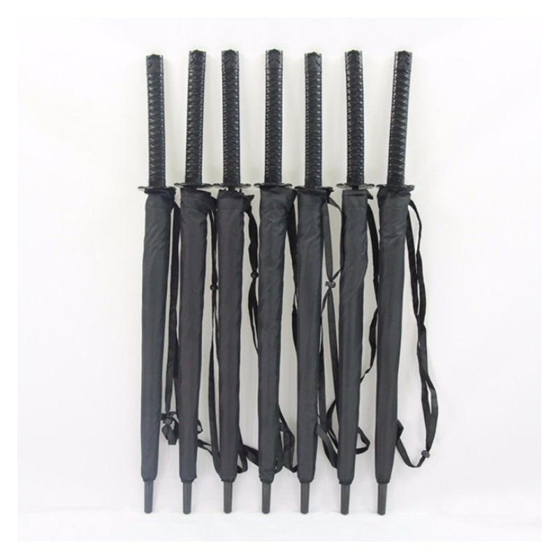 Зонт меч Катана: 8/ 16/ 24 спицы (оригинал, полная длина), трость 201014