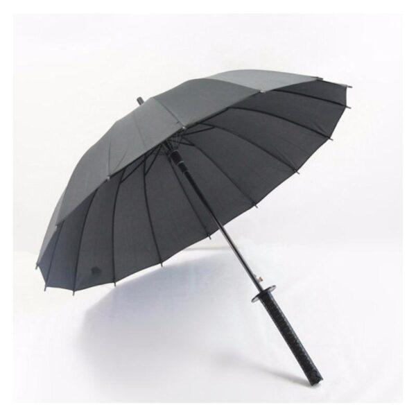 21277 - Зонт меч Катана: 24 спицы (оригинал, полная длина, спицы - стеклопластик!)