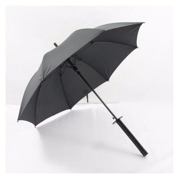 21278 - Зонт меч Катана: 24 спицы (оригинал, полная длина, спицы - стеклопластик!)