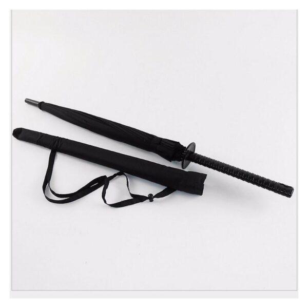 21279 - Зонт меч Катана: 24 спицы (оригинал, полная длина, спицы - стеклопластик!)
