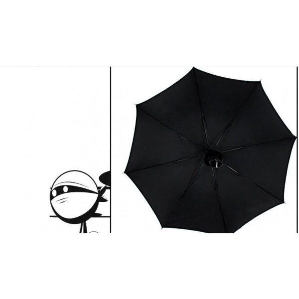 21280 - Зонт меч Катана: 24 спицы (оригинал, полная длина, спицы - стеклопластик!)