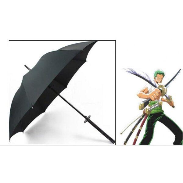 21281 - Зонт меч Катана: 24 спицы (оригинал, полная длина, спицы - стеклопластик!)