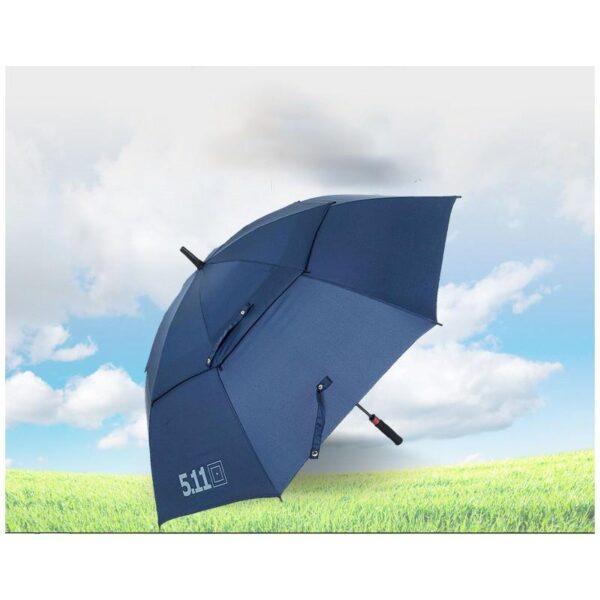 21303 - Ветрозащищенный зонт Wind Of Change 5.11: двойная конструкция верха, каркас из стекловолокна