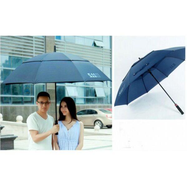 21310 - Ветрозащищенный зонт Wind Of Change 5.11: двойная конструкция верха, каркас из стекловолокна