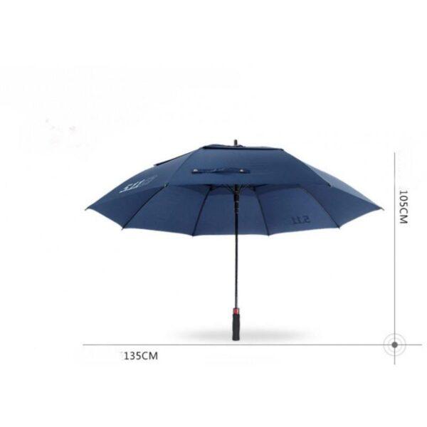 21313 - Ветрозащищенный зонт Wind Of Change 5.11: двойная конструкция верха, каркас из стекловолокна