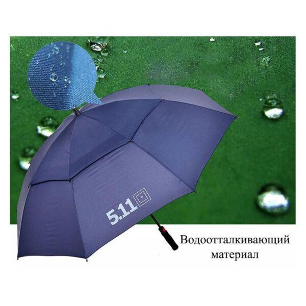 21314 - Ветрозащищенный зонт Wind Of Change 5.11: двойная конструкция верха, каркас из стекловолокна
