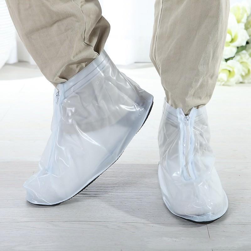 Складные водонепроницаемые мужские сапоги (чехлы-галоши на обувь)