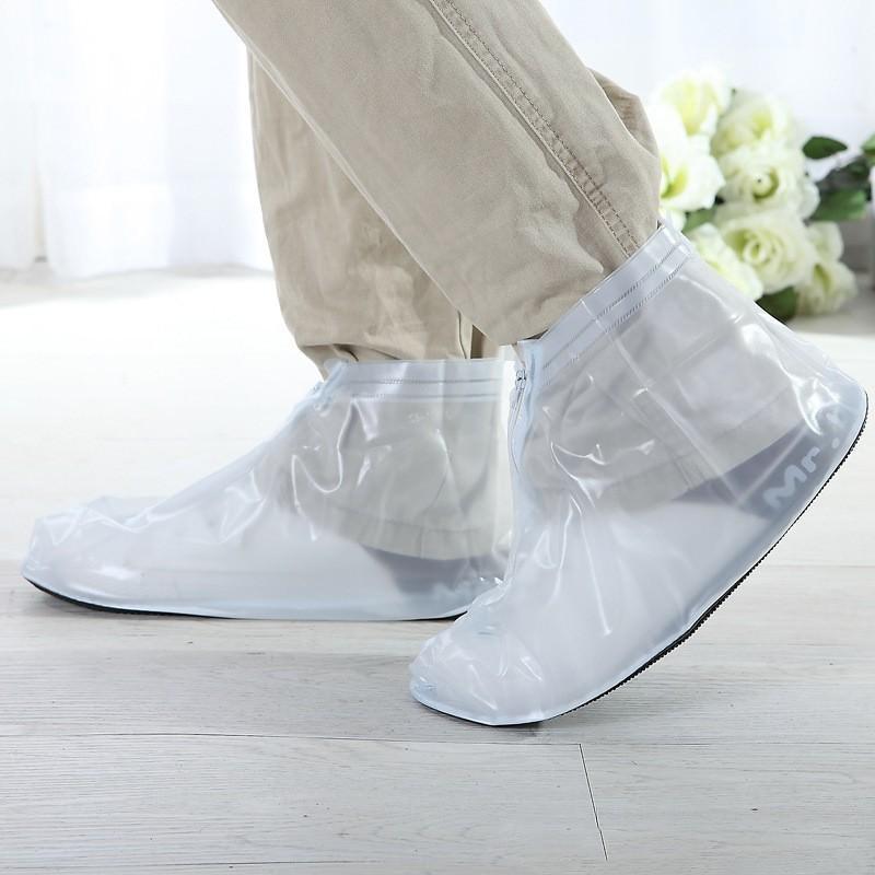 Складные водонепроницаемые мужские сапоги (чехлы-галоши на обувь) 201081