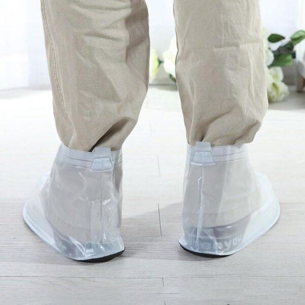 21346 - Складные водонепроницаемые мужские сапоги (чехлы-галоши на обувь)