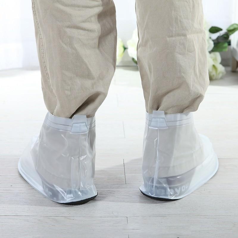 Складные водонепроницаемые мужские сапоги (чехлы-галоши на обувь) 201082