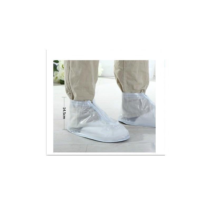 Складные водонепроницаемые мужские сапоги (чехлы-галоши на обувь) 201086