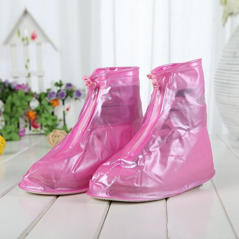 Складные водонепроницаемые сапоги (чехлы-галоши на обувь)