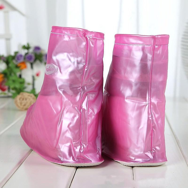 Складные водонепроницаемые сапоги (чехлы-галоши на обувь) 201087