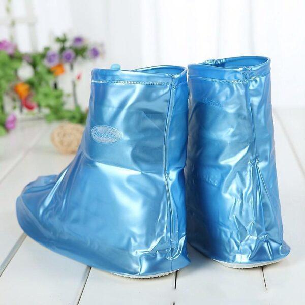 21354 - Складные водонепроницаемые сапоги (чехлы-галоши на обувь)