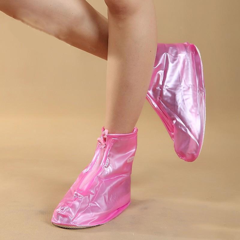 Складные водонепроницаемые сапоги (чехлы-галоши на обувь) 201093