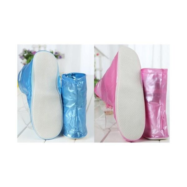 21359 - Складные водонепроницаемые сапоги (чехлы-галоши на обувь)