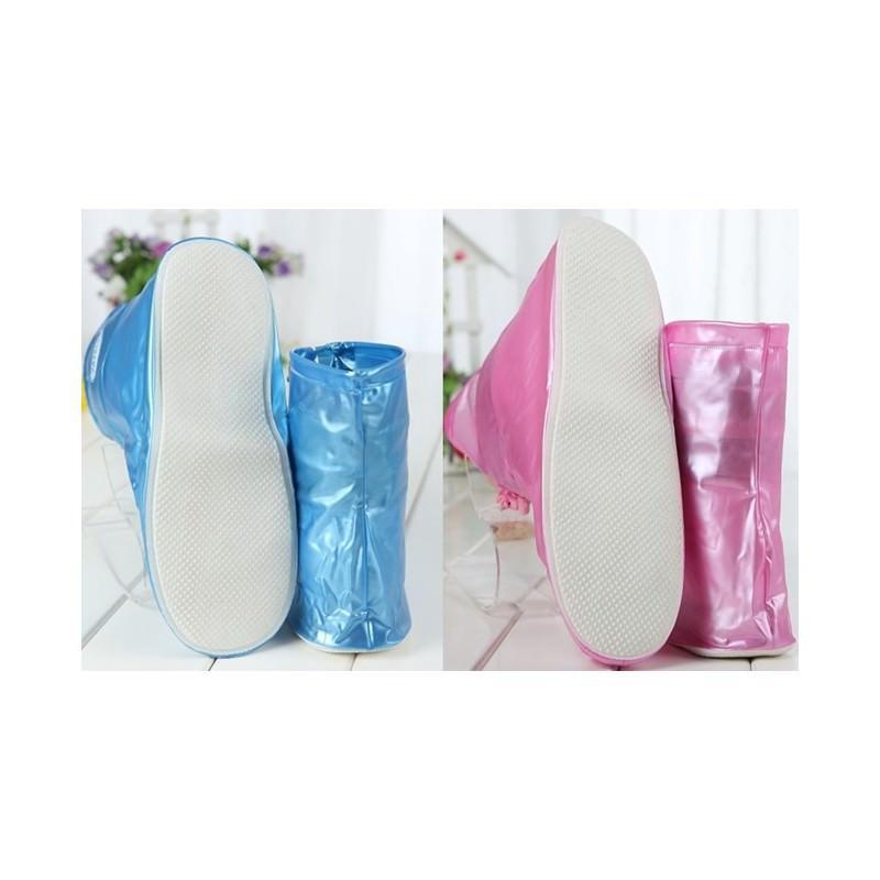 Складные водонепроницаемые сапоги (чехлы-галоши на обувь) 201094