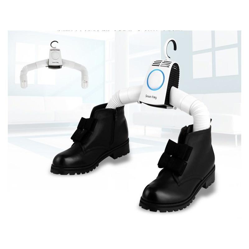 21366 - Электрическая вешалка-сушилка для одежды и обуви - защита от перегрева, стерилизация, складная