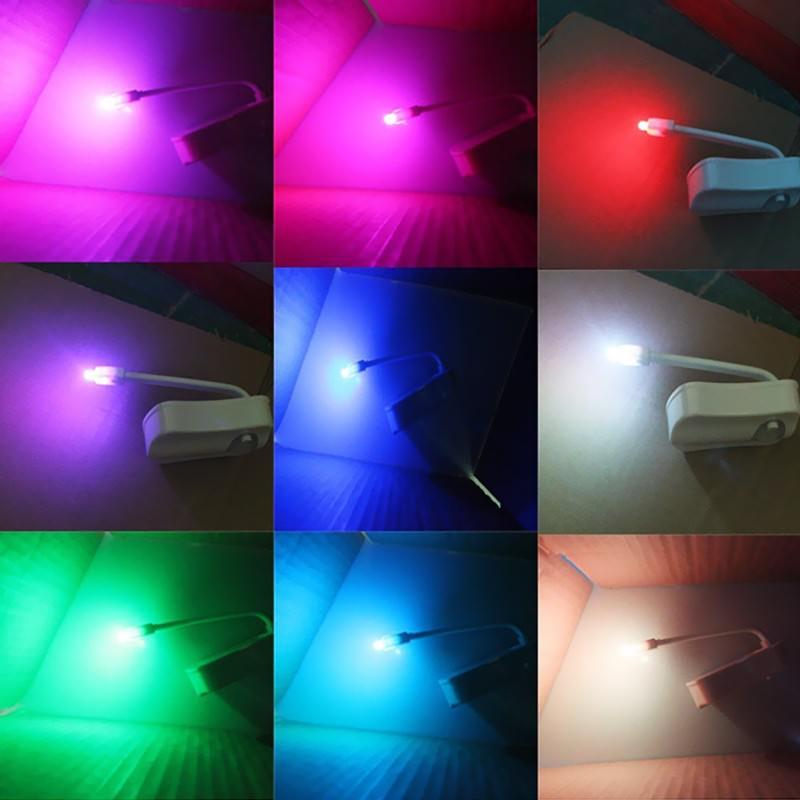 Ночник-подсветка для унитаза: светодиод, 8 цветов, датчик движения, легко моется, экономит энергию 201114