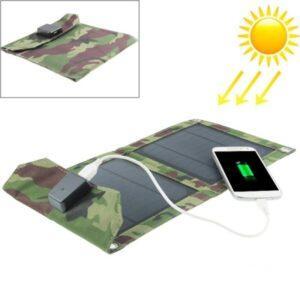 Солнечное зарядное MegaSun 5 Вт, 1А/5В, USB-выход
